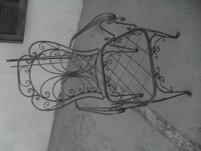 decoracao branca azul aracatuba:jogo de mesa de ferro p jardim