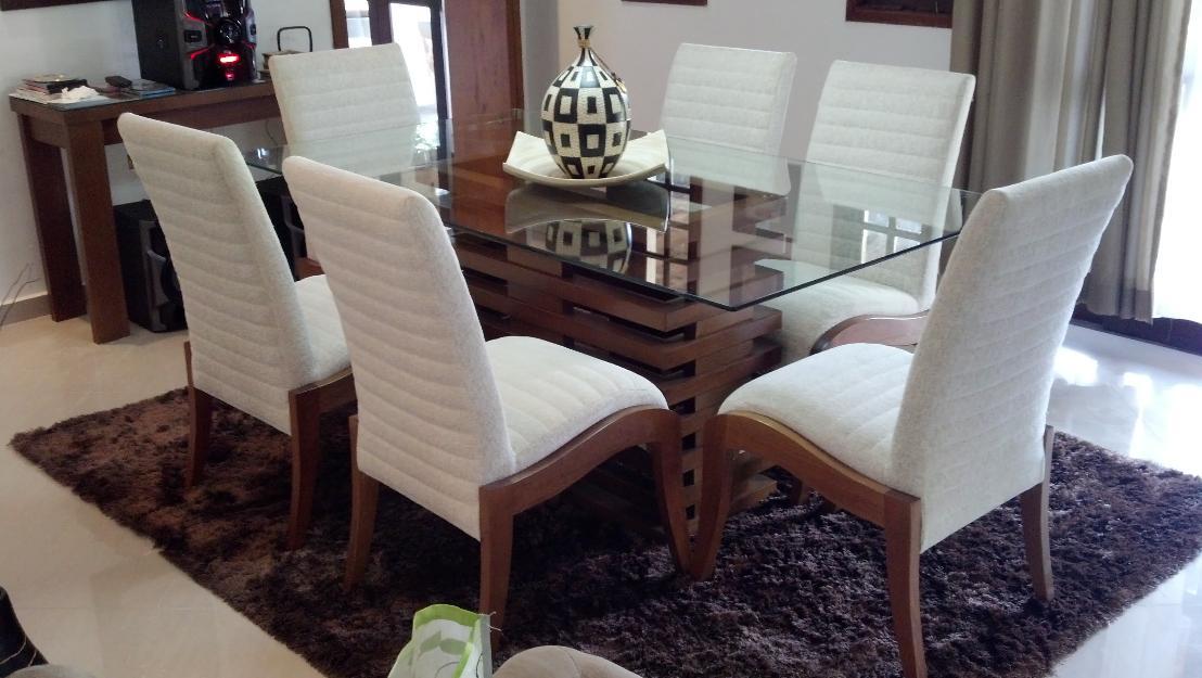 Mesa Sala De Jantar Usada ~ Mesa Jantar 6 cadeiras