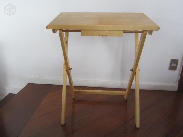 Mesa de madeira para estudo ofertas vazlon brasil - Mesa para portatil ikea ...
