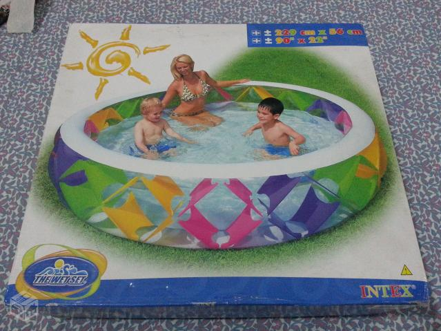 Piscina Familiar Color Whirl -  Litros - Intex