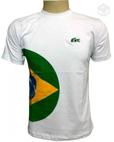 67b72cceb3416 camiseta da lacoste do brasil