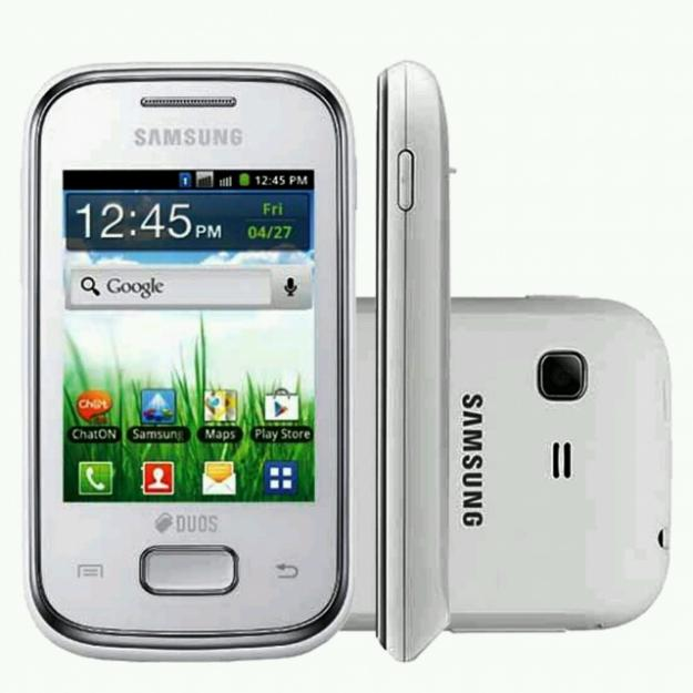 Celular samsung dual chip android barato