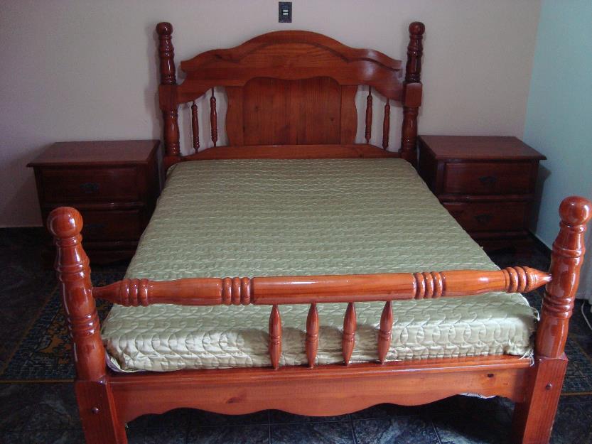 Lindo dormit rio casal semi novo estilo colonial - Camas estilo colonial ...