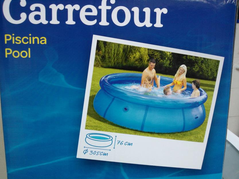 Piscina portatil quick set carrefour lt vazlon brasil for Piscinas de plastico carrefour
