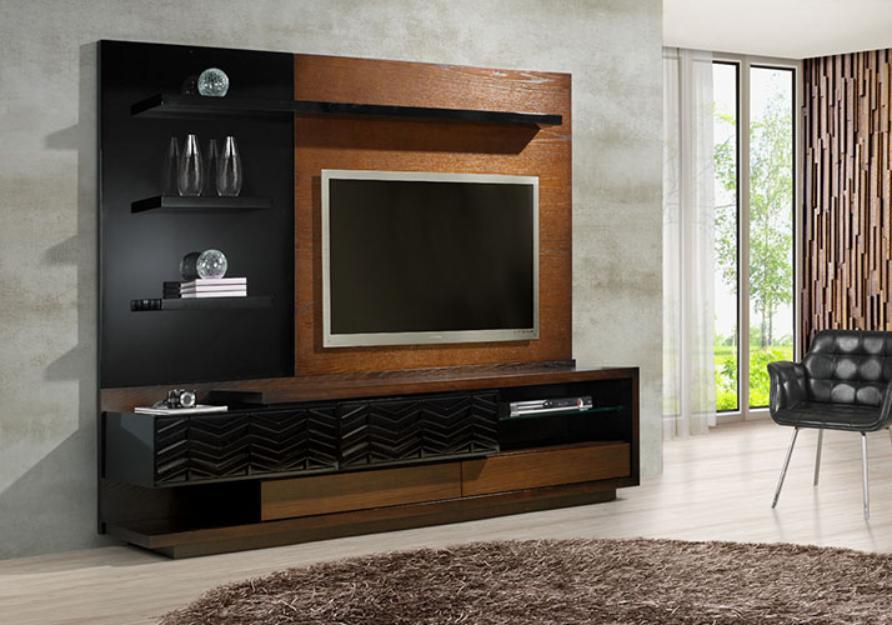 Rack Para Sala De Estar Com Painel ~ rack para tv com painel móvel para sala de estar feito em rack para