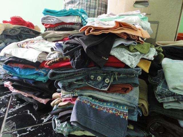 0ae17437b3a lote de roupas usadas para brecho ou bazar   OFERTAS