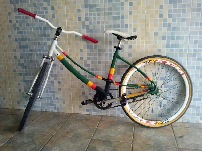 Bicicleta Sundown Leader semi novo adulta modificada