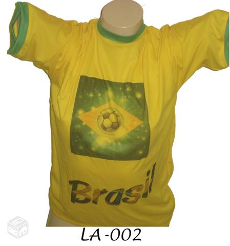 Camiseta Copa  - Atacado - Copa do Mundo