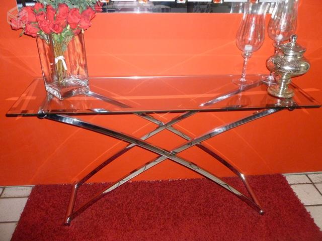 Armario Nancy Antiguo ~ aparador inox e vidro Vazlon Brasil