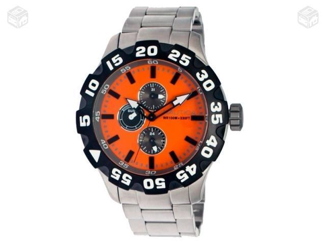 banco itau jardim guadalupe:Relógio Nautica Ng Novo Original Com Etiqueta – Cabo