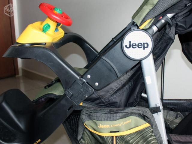 Carrinho De Bebe De 3 Rodas Jeep Liberty Limited Ofertas
