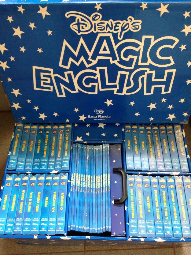 Coleção magic english