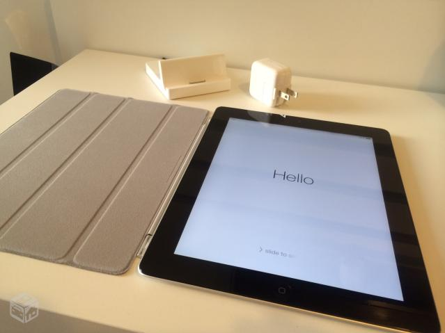 IPad GB com Ipad Dock e Smart Cover