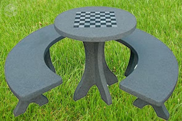 mesa jardim concreto : mesa jardim concreto:mesa em concreto com bancos bh conjunto de mesa redondo com tamanho x