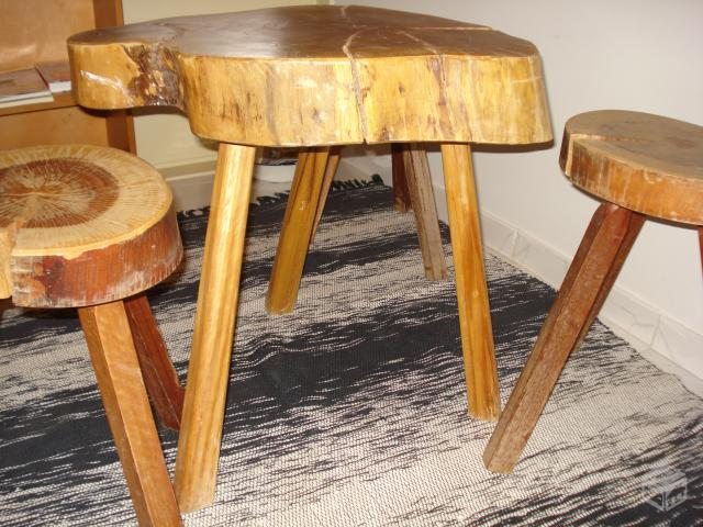 mesa de tronco para varandas : Vazlon Brasil