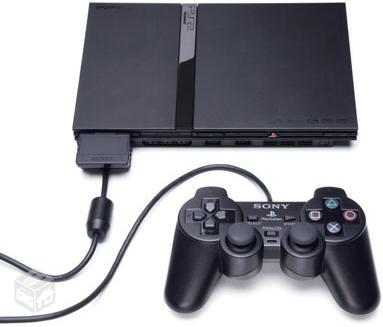 PS2 Com Volante da Cyclone