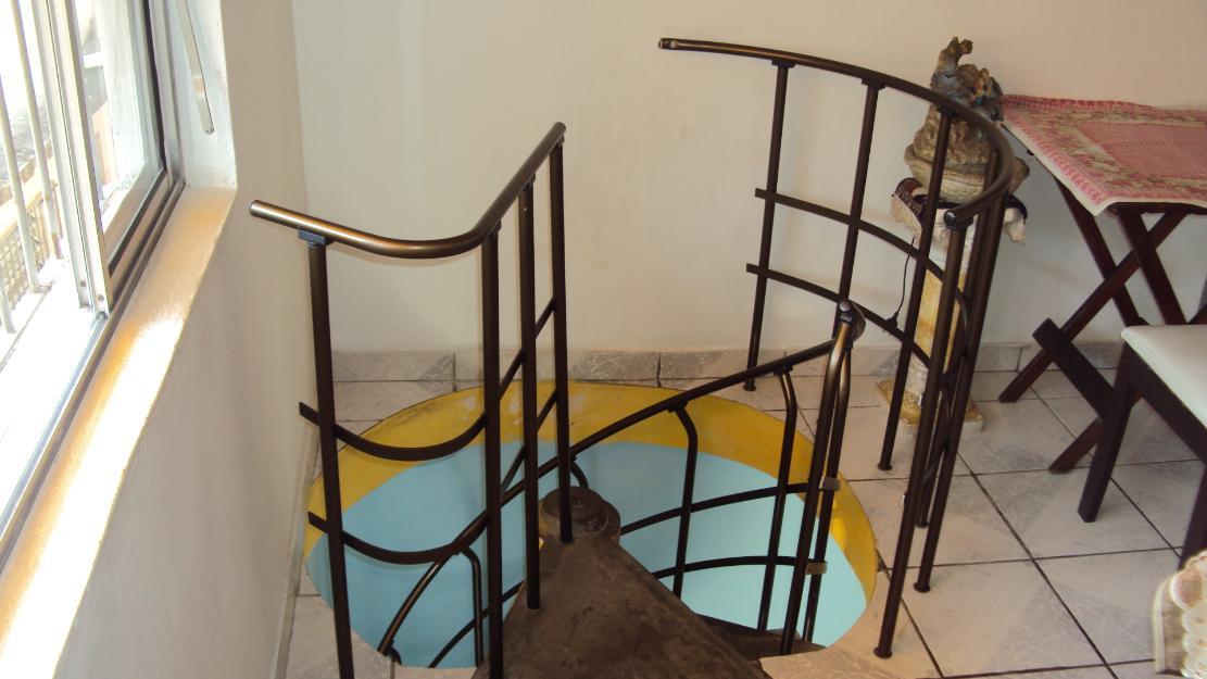Escadas De Madeira Escada Caracol De Ferro Escada Caracol Pr Moldada ...