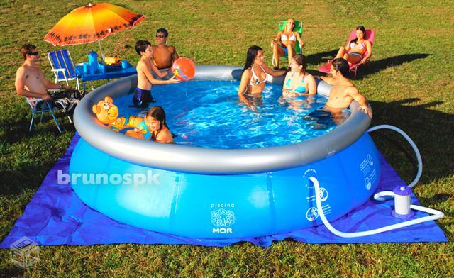 piscina 7 mil litros redonda r vazlon brasil