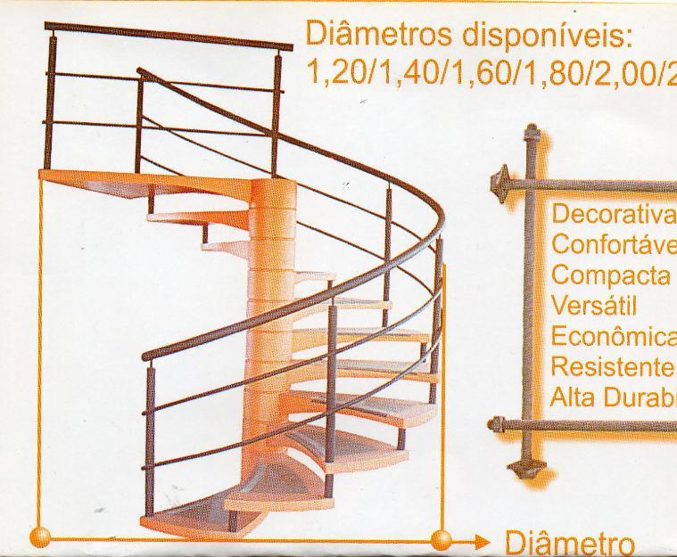 Escadas Caracol Curitiba Escada Caracol