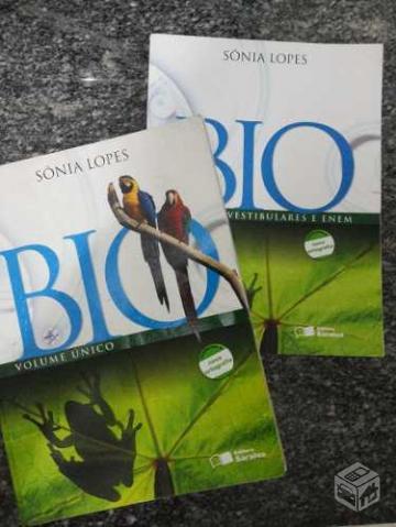 livro de biologia sonia lopes volume unico