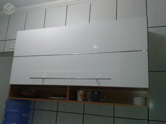 Aparador Embaixo Da Tv ~ armario cozinha aereo com porta basculante Vazlon Brasil