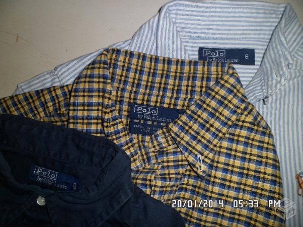 camisa ralph lauren xadrez original   OFERTAS    b71df6e78a1d9