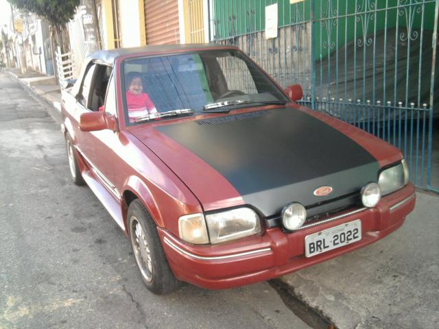 Ford Escort xr3 conversivel  alcool