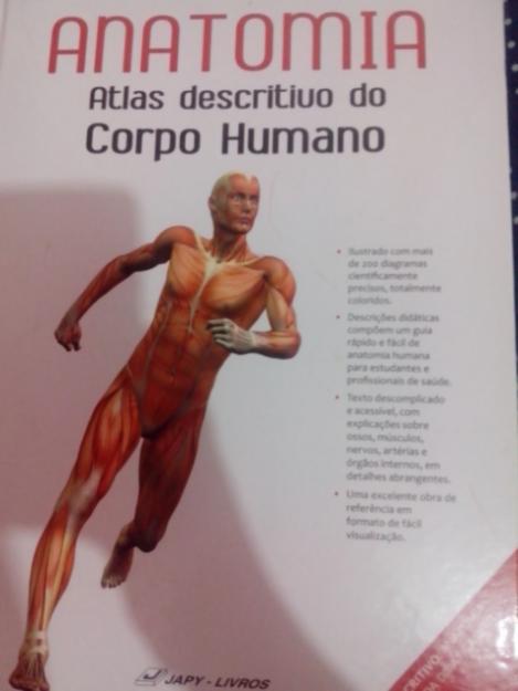 Livro anatomia e fisiologia do corpo humano