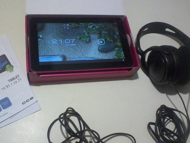 "Tablet cce 9"" rosa"