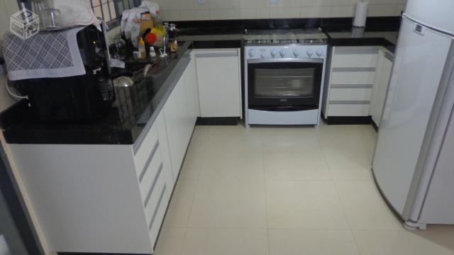 Armario De Geladeira Em Mdf : Armario de cozinha em mdf branco planejada ofertas