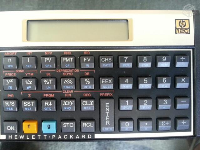 calculadora hp seme nova otimo estado   ofertas   vazlon manual da calculadora hp 12c gold manual de usuario calculadora hp 12c