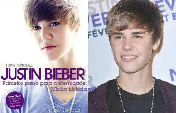 Livro justin bieber minha historia ofertas vazlon brasil for Justin bieber caracteristicas
