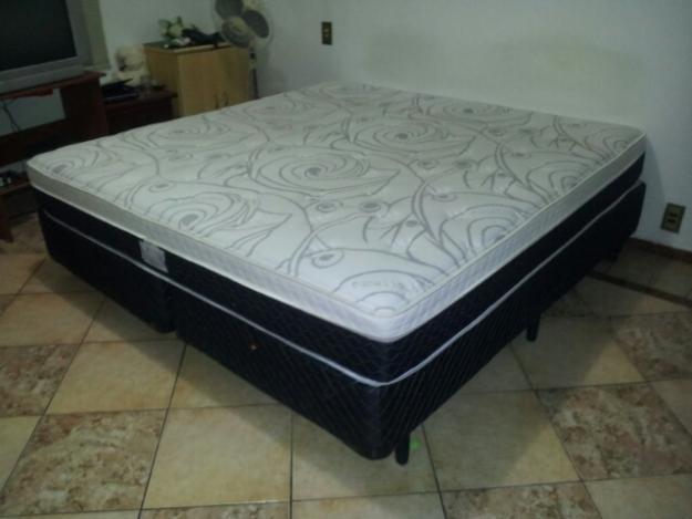 Oferta imperdivel cama box casal com cabeceira ba r 699 for Ofertas de camas king size