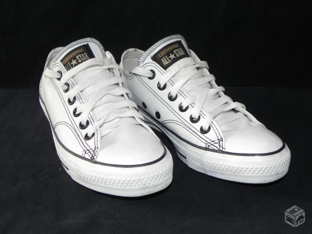 Tenis Unissex Converse All Star European Branco  - R$