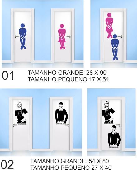 Valmor Artesanato Joinville ~ placa de identificacao para banheiro feminino e masculino Vazlon Brasil