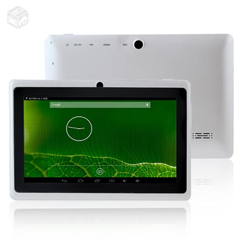 "Tablet 4GB Android "" polegadas - R$"
