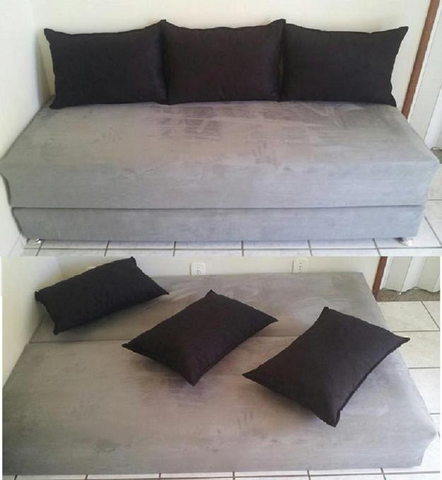 Sofas cama qualidade e melhor preco do mercado frete for Fabrica sofa cama