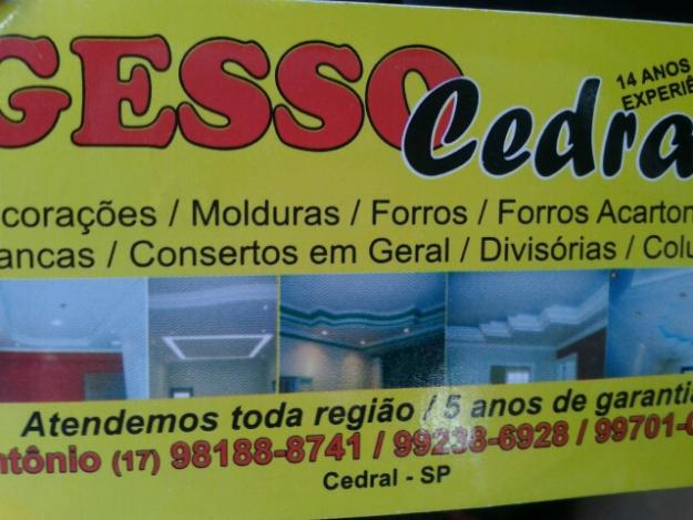 Gesso Cedral