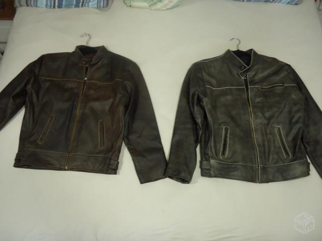 Jaquetas de Couro de Búfalo