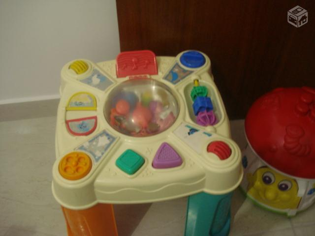 Cavalinho upa up musical fisher price 1 ate 3 anos for Mesa fisher price
