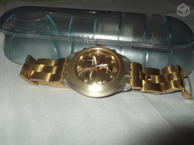 df97599e3ee relogio swatch swiss dourado r   OFERTAS
