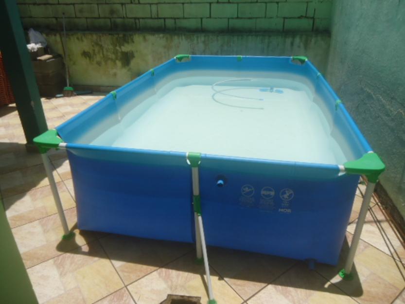 Piscina de 5mil litros da marca carrefour vazlon brasil for Filtro piscina carrefour