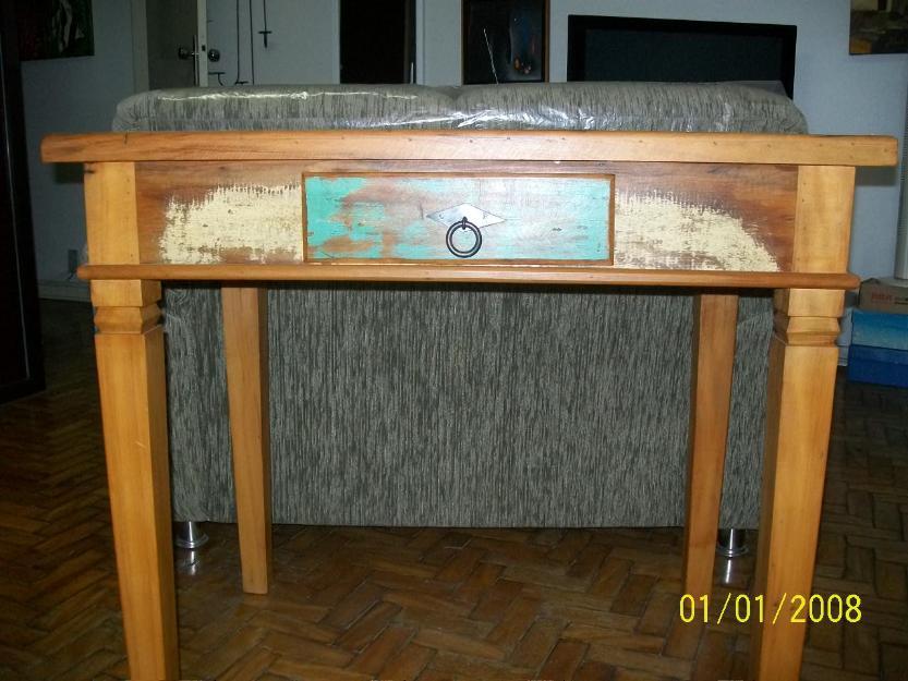 Adesivo Para Azulejo Leroy Merlin ~ aparador antigo em madeira de demolicao macico Vazlon Brasil