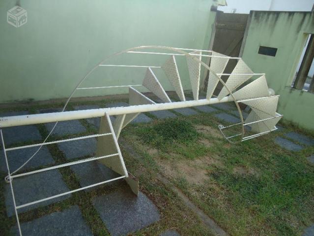 Escadas Caracol de Ferro Escada Caracol Com Corrimão