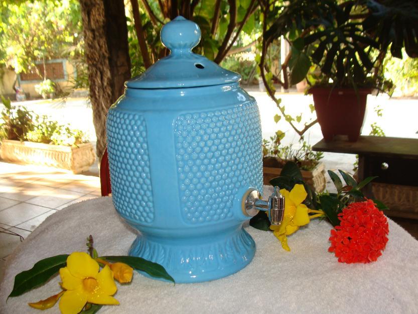 decoracao branca azul aracatuba : decoracao branca azul aracatuba:jarra decorativo de porcelana de portugal