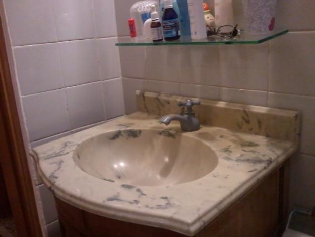 pia branca completanova com torneira chicote sifao ralo  Vazlon Brasil -> Pia Banheiro Sifao