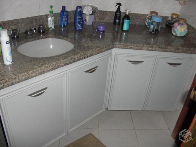 gabinete banheiro com cuba armario e espelho  Vazlon Brasil -> Armario De Banheiro Canto