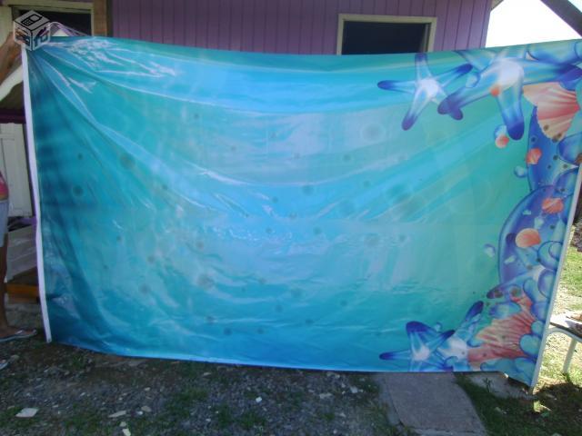 Painel Para Festa Tema Fundo Do Mar R Ofertas Vazlon Brasil