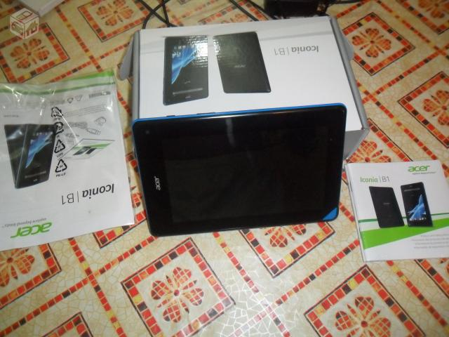 "Tablet acer ""7, dual core, android  novo - R$"