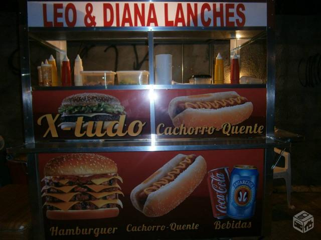 Barraca de lanches - R$